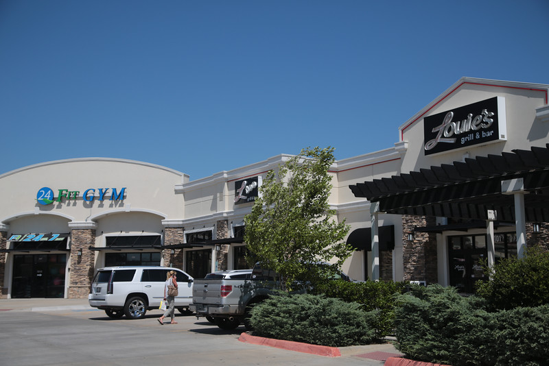The shopping center at 9101 S Western Ave in Oklahoma City, OK is for sale.