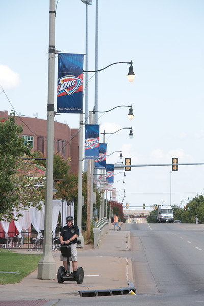 The City of Oklahoma City is redefining its billboard and signage ordinances, primarily in Bricktown, after complaints that OKC Thunder signage was not in compliance.