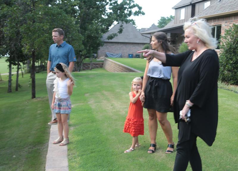 Marina Lloyd with 525 Realty shows a home for sale in the Fairfax Neighborhood in Edmond, OK.