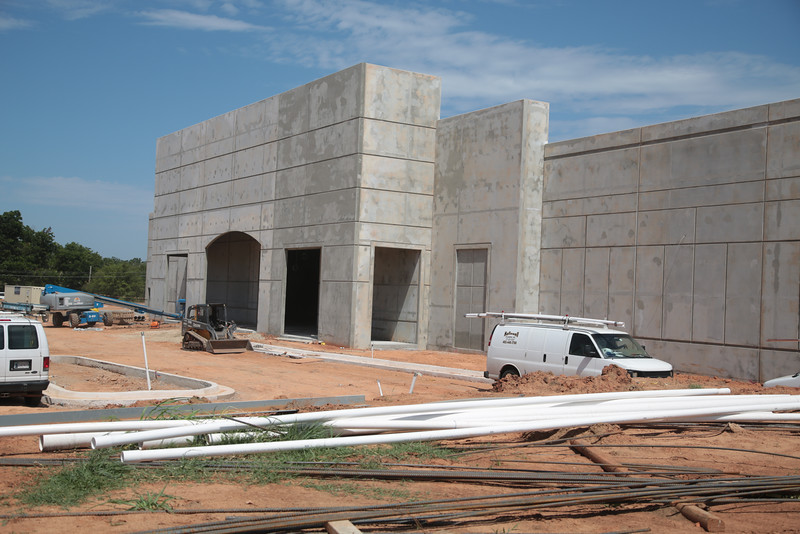 A new Academy Sports and Outdoors under construction at SE 15th Street and Sooner Road in Midwest City, OK.