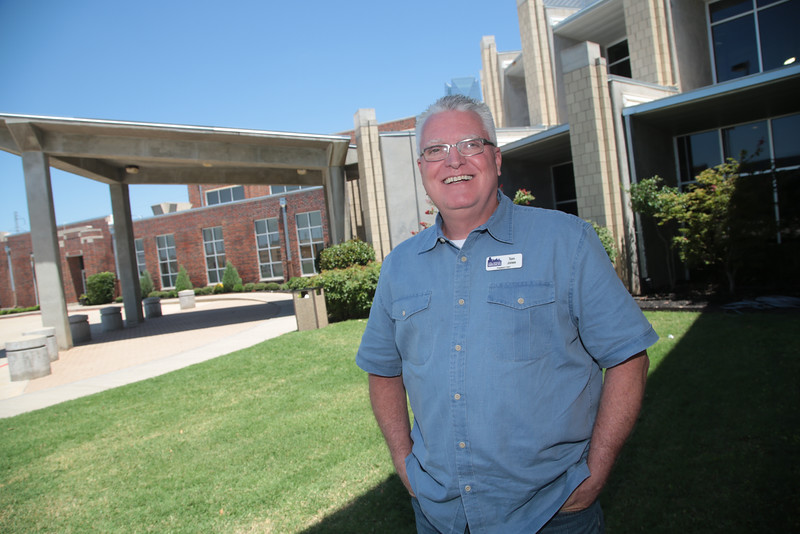 Tom Jones, director of the City Rescue Mission in Oklahoma City.