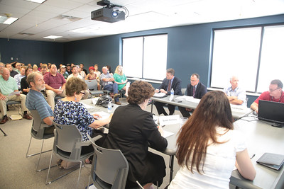 A meeting of the City of Norman's  Floodplain Controll Commision.