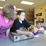Kids playing in an afterschool class at Special Care located at 12202 N Western in Oklahoma City, OK.