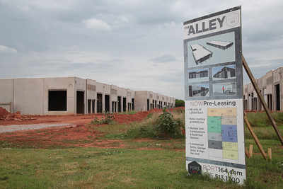 The Alley is part of Port 164 under construction at NW 164th and Portland in Oklahoma City.