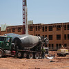 An AC Hotel is under construction at E Sheridan and Joe Carter Ave in the Bricktown District of Oklahoma City, OK.