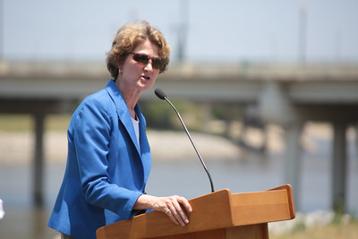 Oklahoma State Senator Kay Floyd held a press conference in opposition to State Question 777.