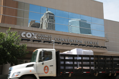 The Cox Convention Center in downtown Oklahoma City, OK.