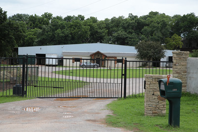 The property at 2408 NE 122nd Street in Edmond, OK will be auctioned by the Oklahoma County Sheriff's office on Jube 16.