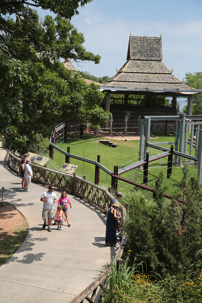 The Oklahoma City Zoo is spending thirteen million dollars to expand it's Asian animal exhibit.