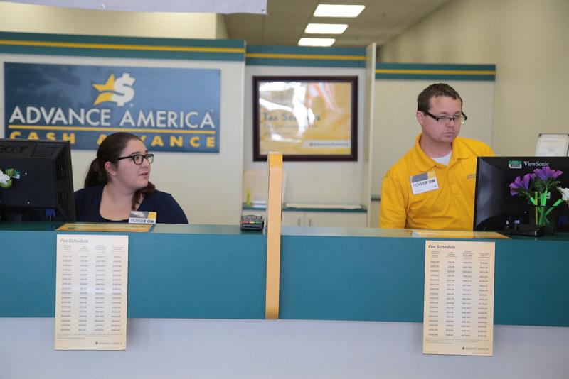 Advance America located at 1841 Belle Isle Blvd in Oklahoma City, OK.