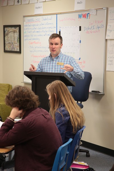 Jason Stephenson teaches creative writing at Deer Creek High Scool in Deer Creek, OK.