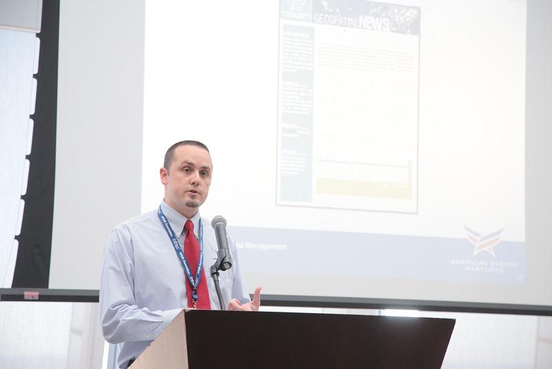 Daniel Wortham, Geoinformatics Manager at American Energy Partners, LP<br /> Speaks at the Professional Petroleum Data Management Association's Oklahoma City 2016 Data Management Workshop