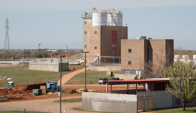 The Lake Hefner Water Treatment Plant in Oklahoma City, OK.