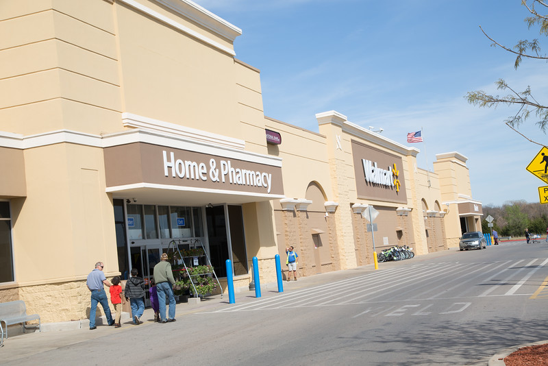 Wal-Mart in Guthrie, OK.