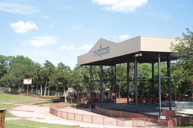 The Zoo Amphitheater located at 2101 NE 50th Street in Oklahoma City.
