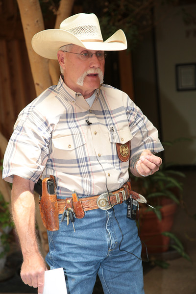 Jerry Flowers, Chief Agent for the Oklahoma Department of Agriculture.