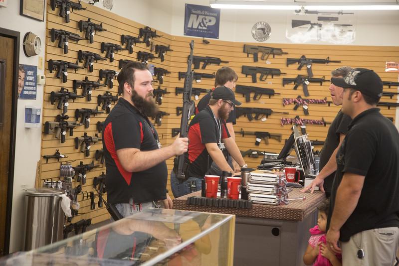 Big Boy Guns and Range located at 8620 SW 74th Street in Oklahoma City, OK.