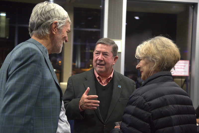 Attorny Drew Edmondson attended a watch party for No On State Question 777 held at Aloft Hotel in downtown Oklahoma City.