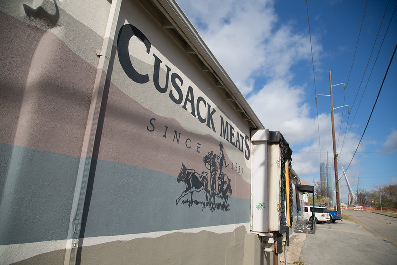 Cusak Meats, located at 301 SW 12th St, is willing to sell a piece of it's property to the City of Oklahoma City if their price is met.