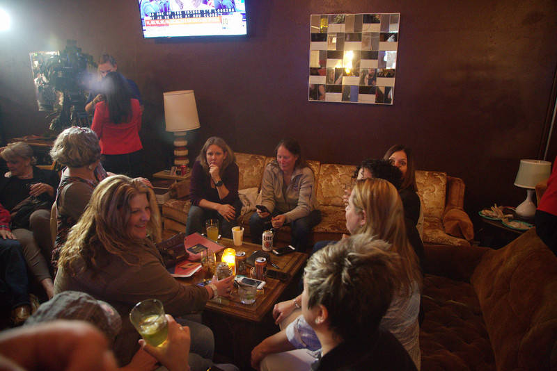 Oklahoma Democrats held a watch party at Rockford Cocktail Den at 317 W 23rd Street in Oklahoma City.