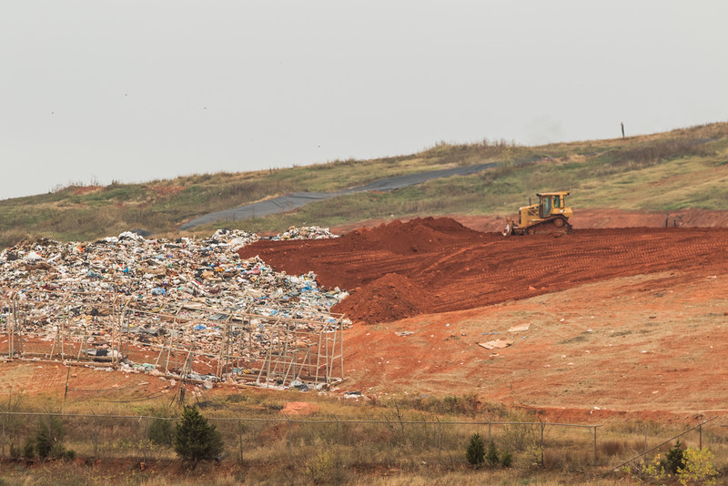 Republic Services Landfill located at 7001 S Bryan Ave in Oklahoma City.