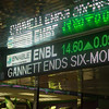 Enable Midstream on the stock ticker in Leadership Square in Oklahoma City.