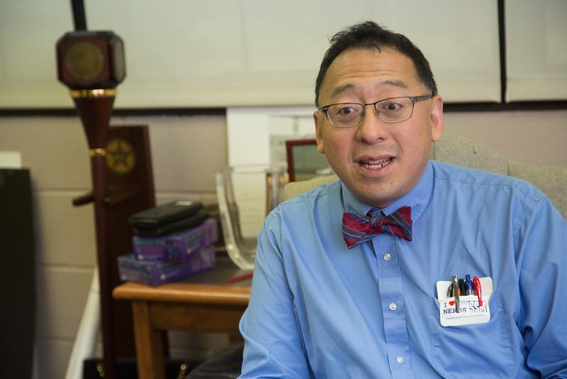Frank Wang with the Oklahoma School of Science and Mathmatics located in Oklahoma City, OK.