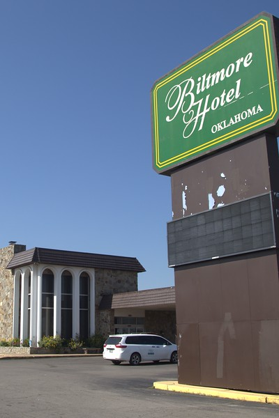 The Biltmore Hotel located at 401 S Meridian Ave in Oklahoma City.