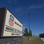 The Union Pacific Midwest City Auto Facilty.