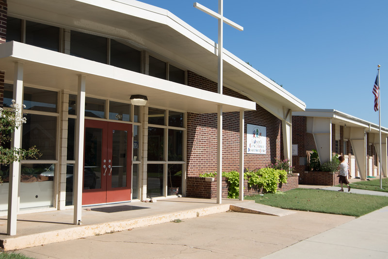 St Joseph's Early Childhood Development Center, located at 425 Tonhawa Street in Norman, is closing for business.