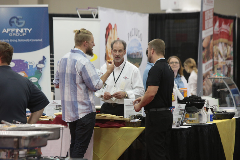 The Oklahoma Resturaunt Convention and Trade Show is being held this week at the Cox Convention Center in downtown Oklahoma City.