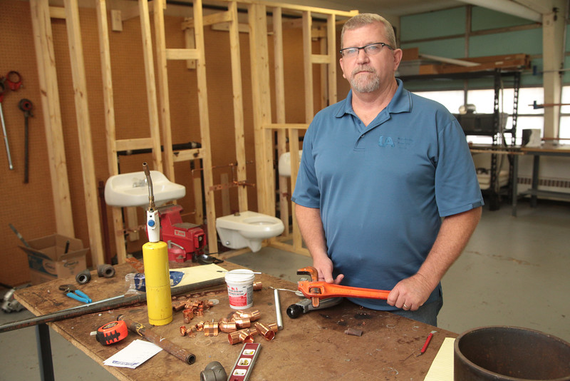 Tommy O'Donnell is Training Director at Plumbers and Pipefitters Local 344 Training Center in Oklahoma City.