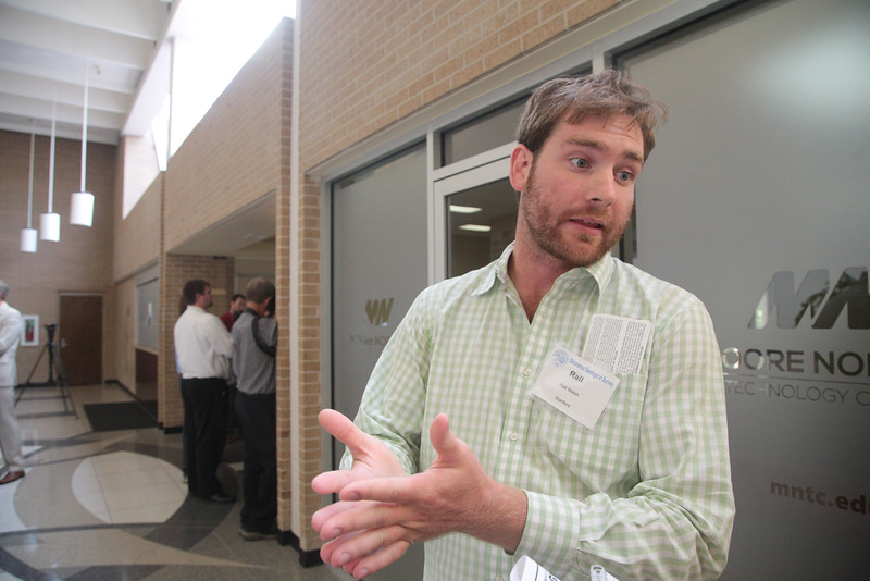 Rall Walsh, Ph.d. canidate in the Department of Geophysics at Stanford University, attended the Seismicity in Oklahoma Workshop at Moore-Norman Technology Center in Norman, OK.