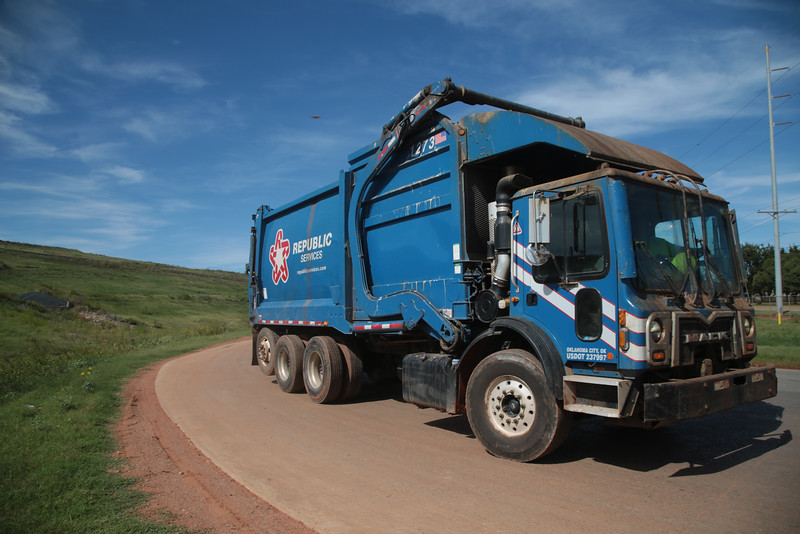 The Southeast Landfill in Oklahoma City operated by Republic Services.