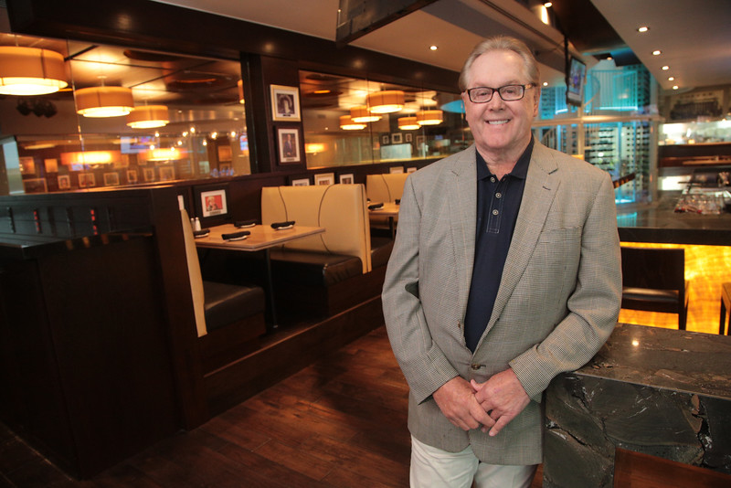 Hal Smith at Legacy Grill opening in the Bricktown District of Oklahoma City.
