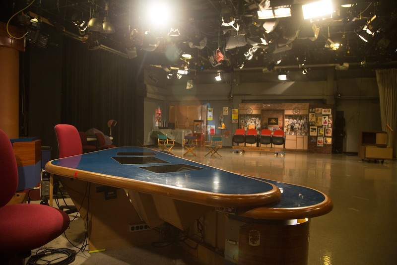 The studio at OETA in Oklahoma City, OK.