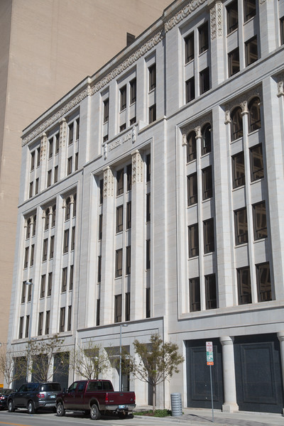 The Pioneer Building located at Broadway and Dean A McGee Ave. in Oklahoma City.