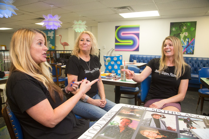 Sisters Tami Lake, Traci Stone and Sheli Reynolds-Stenseth are opening Stone Siter's Pizza Bar at 2124 N Broadway Ave in Oklahoma City, OK.