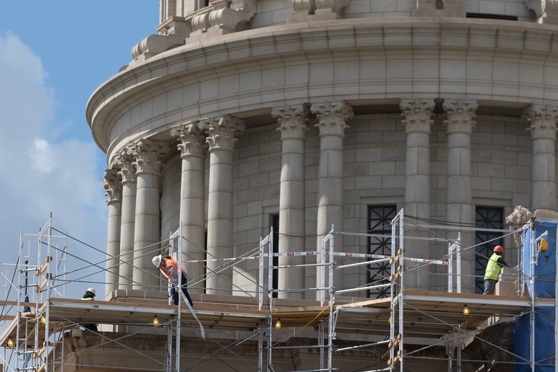 Restoration of the Oklahoma State Capitol in Oklahoma City, OK.