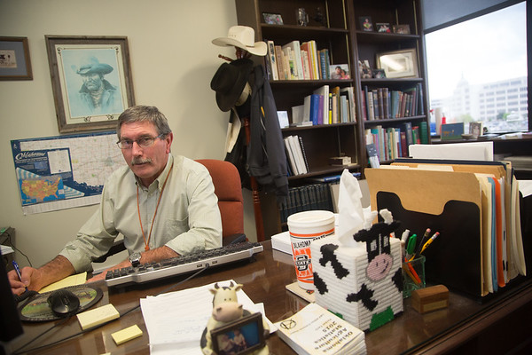 Dr. Rod Hall, state veterinarian with the Oklahoma State Department of Agriculture located at 2800 N Lincoln Blvd in Oklahoma City.