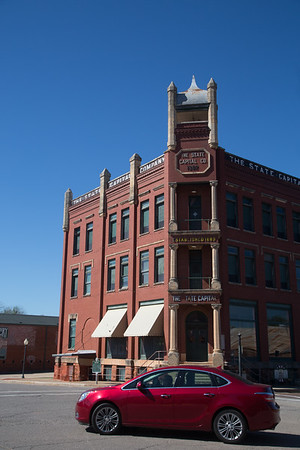The State Capitol Publishing located at 301 W Harrison Ave in Guthrie, OK.