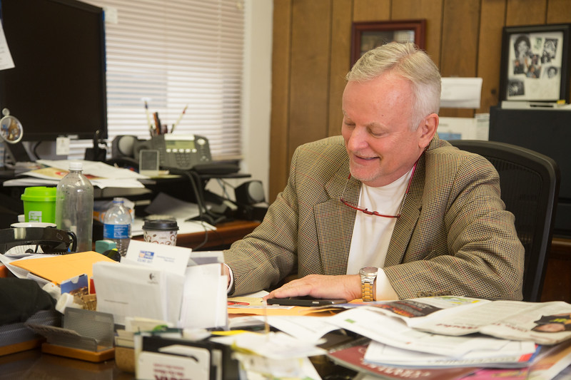 Oklahoma County Treasurer Butch Freeman at the Oklahoma County assesor's Ofiice located at 320 Robert S Kerr Ave in Oklahoma City.
