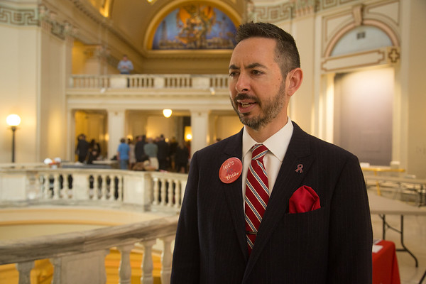 Andy Moore, Executive Director of Let's Fix This, at the Oklahoma State Capitol located in Oklahoma City, OK.