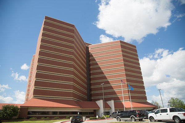 The Oklahoma County Jail located in Oklahoma City, OK.