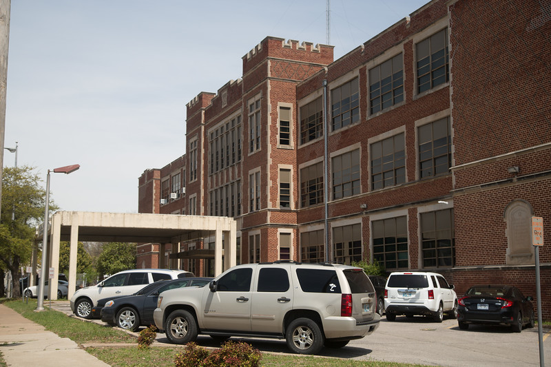 The Oklahoma City Public Schools Administration Building in Oklahoma CIty, OK.
