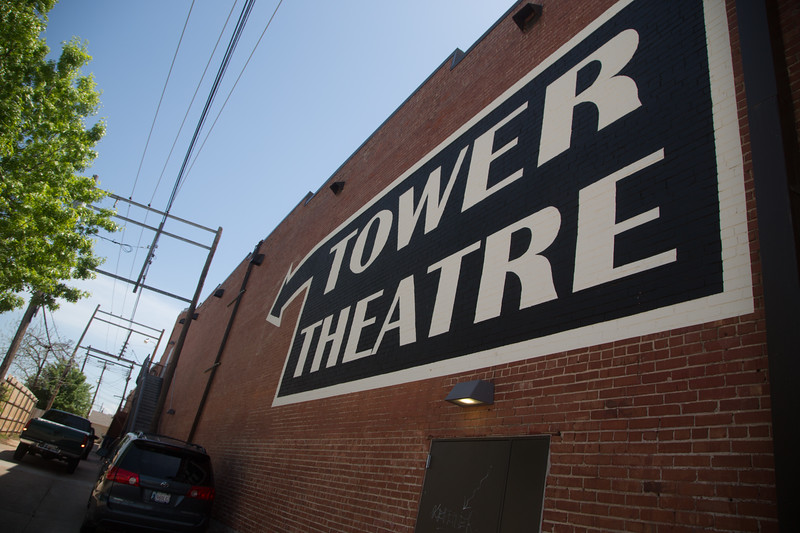 The Tower Theater located at 425 NW 23rd St in Oklahoma City.