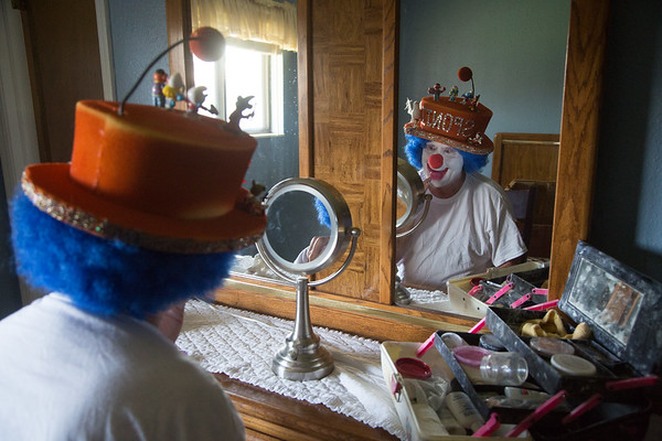 John Pansze, who goes by the Sponji the Clown, has diversified his performance as a result in fewer request for entertainment from clowns.