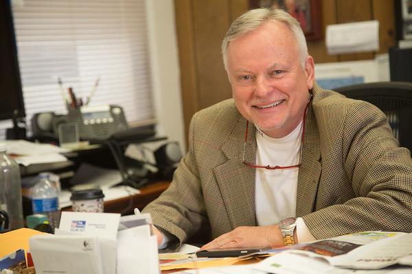 Oklahoma County Treasurer Butch Freeman at the Oklahoma County assesor's Ofiice located at 320 Robert S Kerr Ave in Oklahoma City.