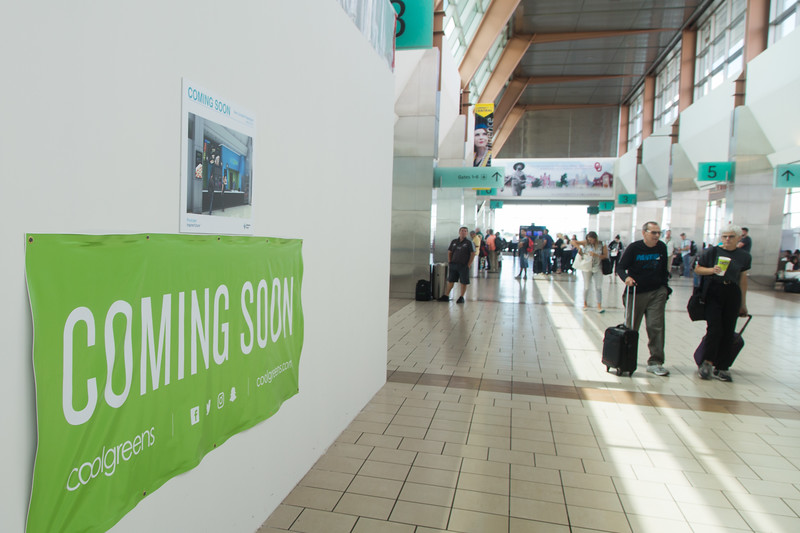 Coolgreens is opening a new resturaunt location in the terminal of Will Rogers World Airport in Oklahoma City.