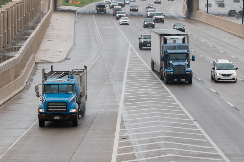 The Oklahoma Corporation Commision is seeking the ability to track overweight trucks and impose stiffer fines.